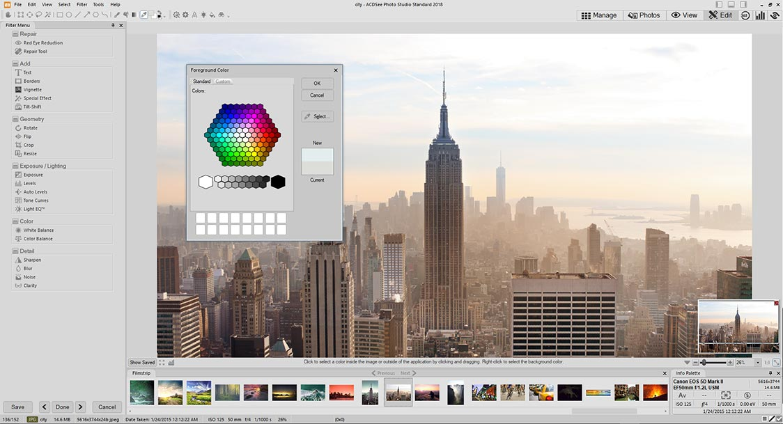 Alternative to Picasa | ACDSee Photo Studio Home