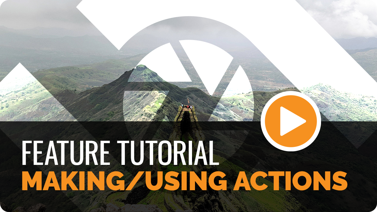Making/Using Actions