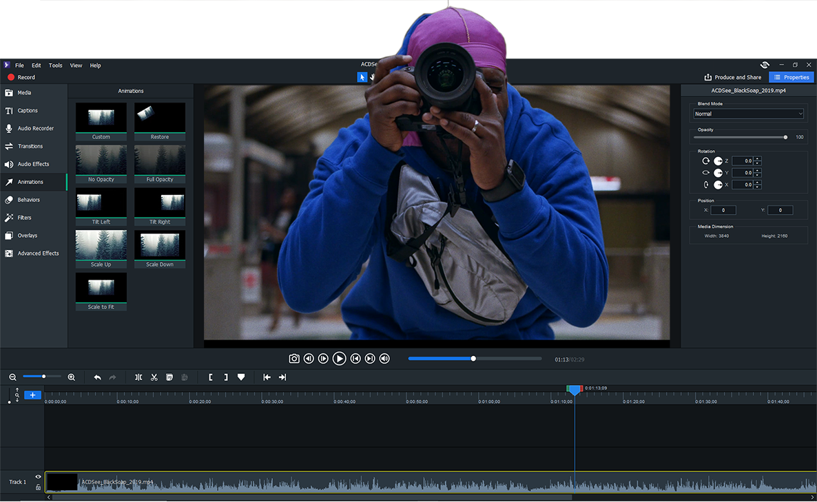 Video Editing Software | ACDSee