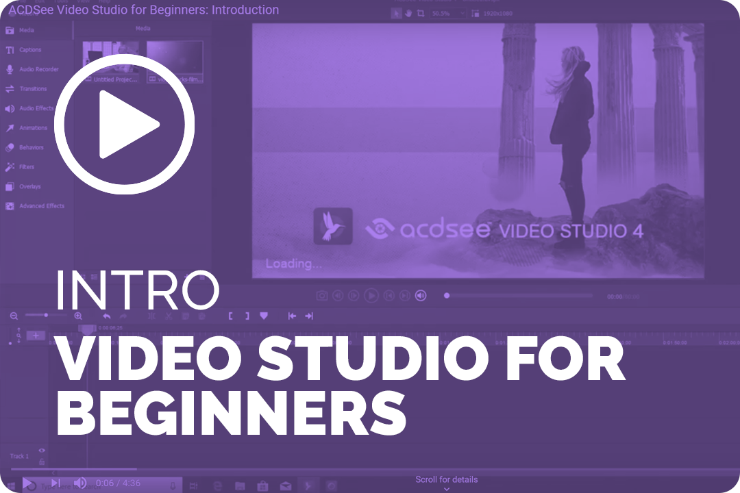 Intro Video Studio for beginners